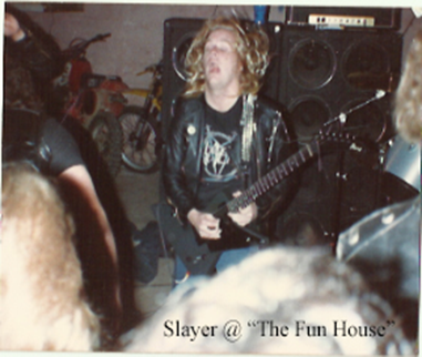 Slayer at the Funhose 1984